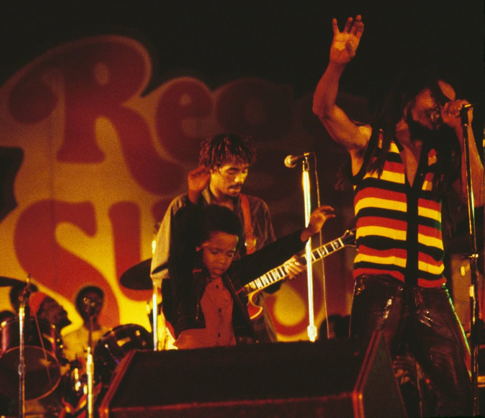 July 7, 1979 at Reggae Sunsplash II Jarrett Park - Montego Bay, JM