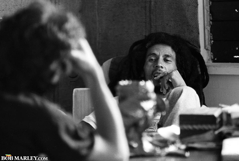 1980 - interview at 56 Hope Road - Kingston, JM - Photo by Dennis Morris