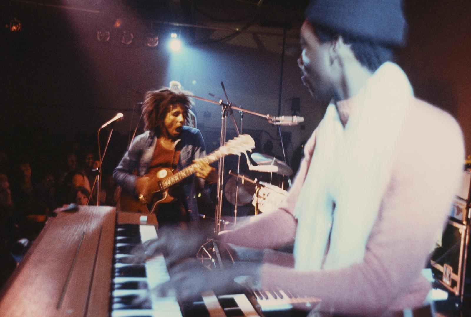 Leeds, UK (1973): during the 'Burnin' tour