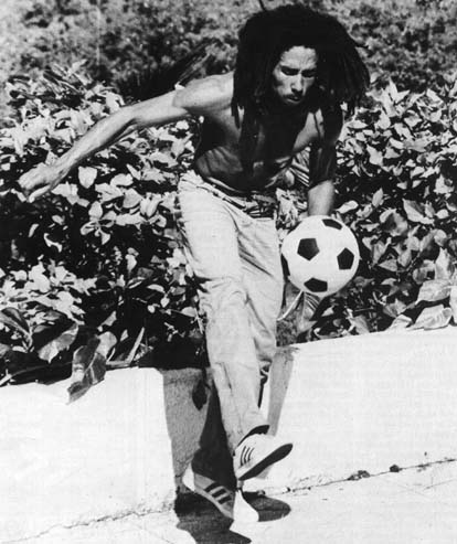 Bob Marley Official Site Photos On The Field Football Shots
