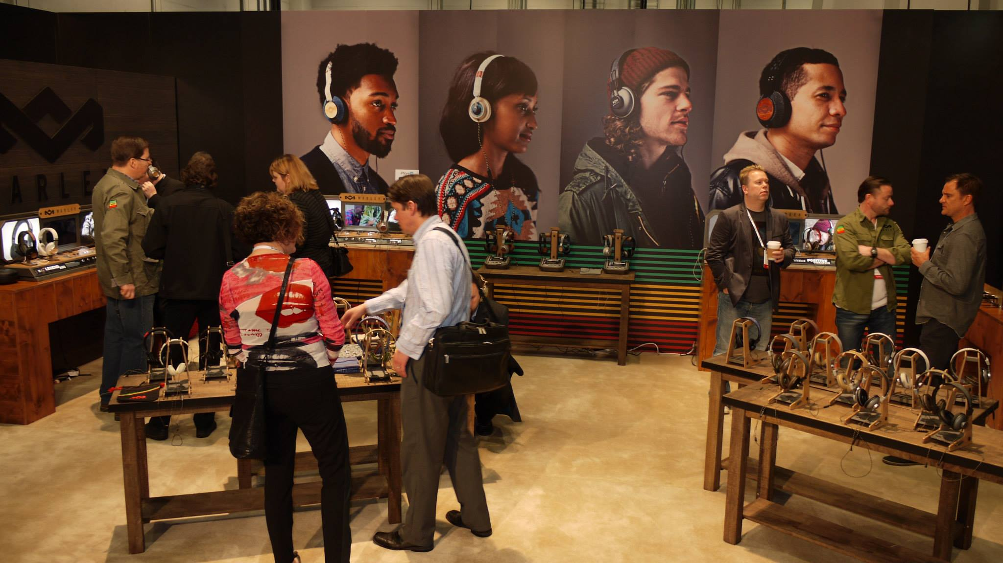 bob marley site — news — house of marley at ces 2014 (recap)
