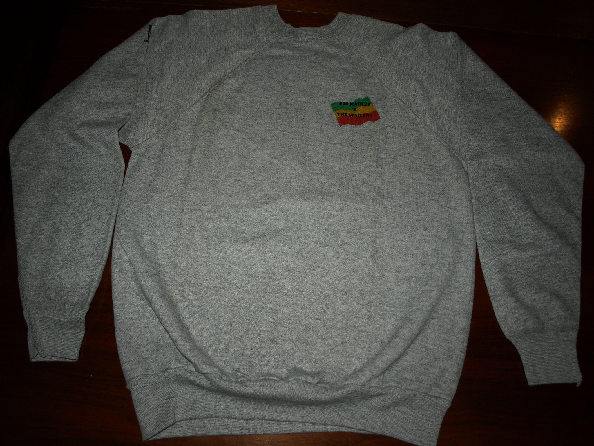 Zimbabwe concert promo sweatshirt 1980