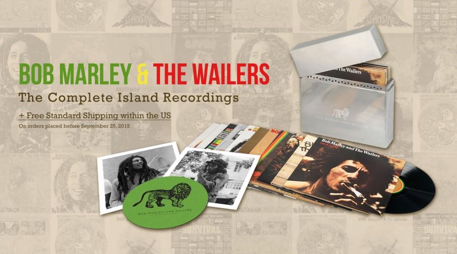 Island Years Vinyl Box Set Announced Bob Marley News