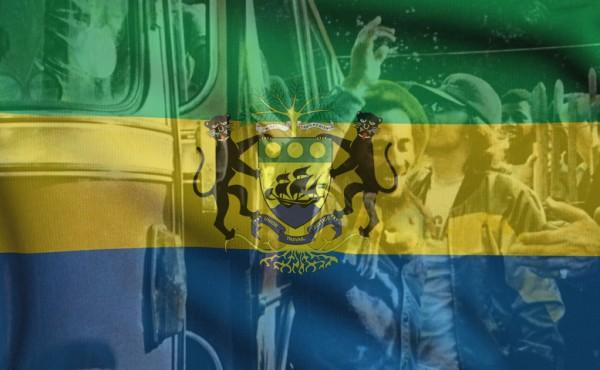 Gabon Indi Flag-bob