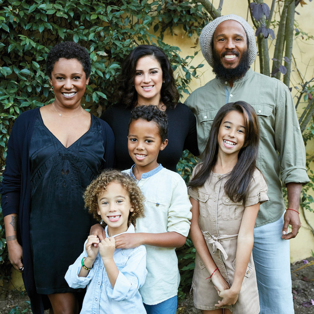 Ziggy Marley Releases New Healthy Organic Family Cookbook