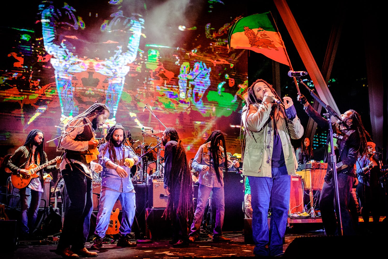 Marley brothers take the stage at Kaya Fest