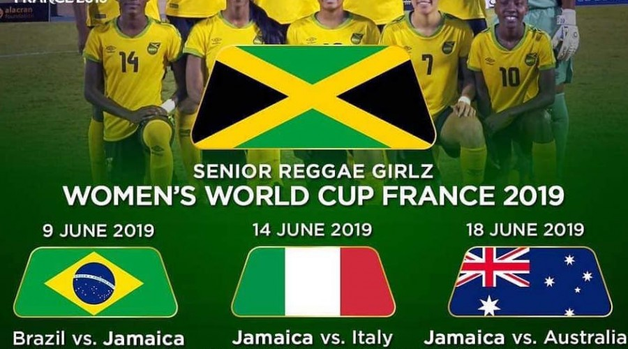 new concept 01308 2dfce Jamaica Reggae Girlz' group stage schedule @ FIFA Women's ...