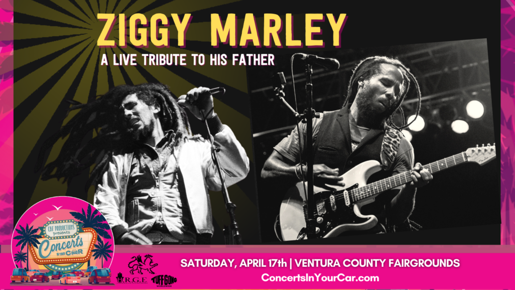 Ziggy Marley to Perform Two Drive-In Bob Marley Tribute Concerts